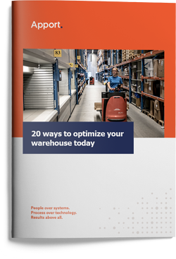 Apport Systems Whitepaper: 20 ways to optimize your warehouse today
