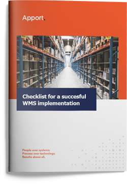 Apport Systems Whitepaper: Checklist for a succesful WMS implementation