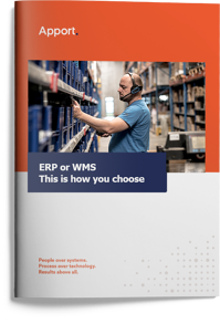 Apport Systems Whitepaper: ERP or WMS - this is how you choose