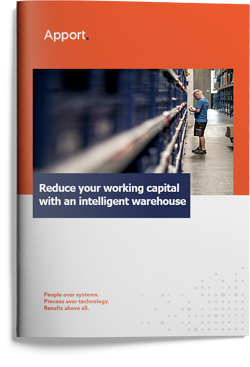 Whitepaper:  Reduce your working capital with an intelligent warehouse